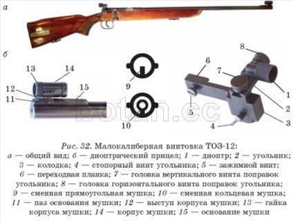 Пневматическое и малокалиберное оружие