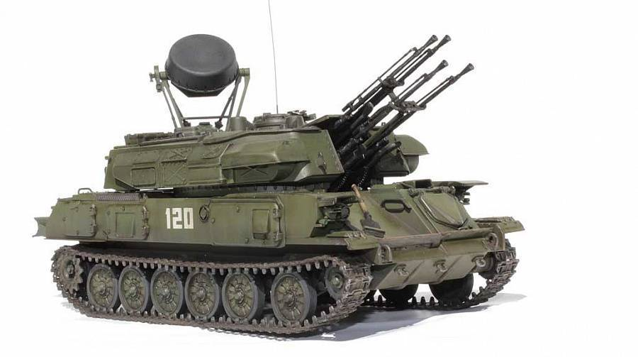 Зенитная самоходная установка зсу-23-4 «шилка» (россия). фото и описание