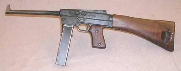 Пистолет-пулемет MAS-38 (MAS Mle.1938)
