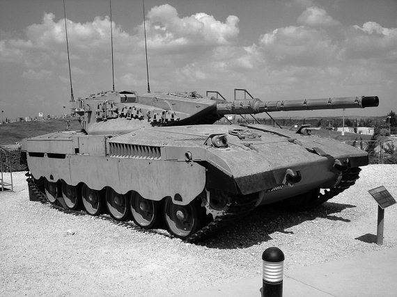 Танк «Меркава» – революционная колесница Бога