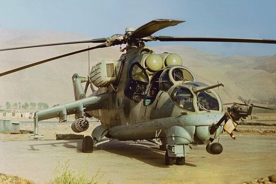 """Ми-24 – """"Стакан"""", """"Крокодил"""", """"Superhind"""""""