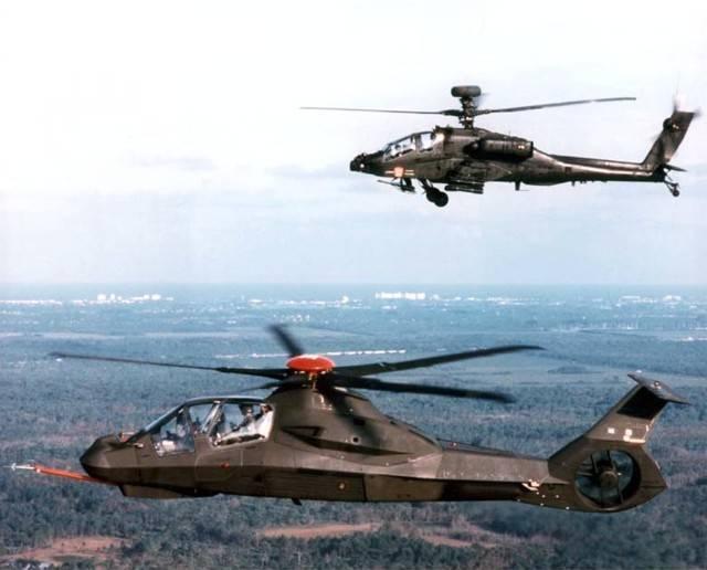 Boeing Sikorsky RAH-66 «Команч» – когда известность не спасает
