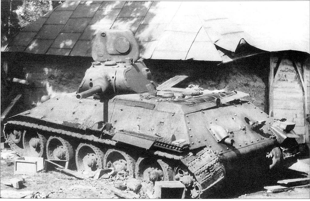 История танка Т-34 – дважды победителя
