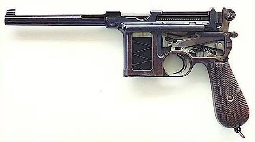 Пистолет mauser c 96