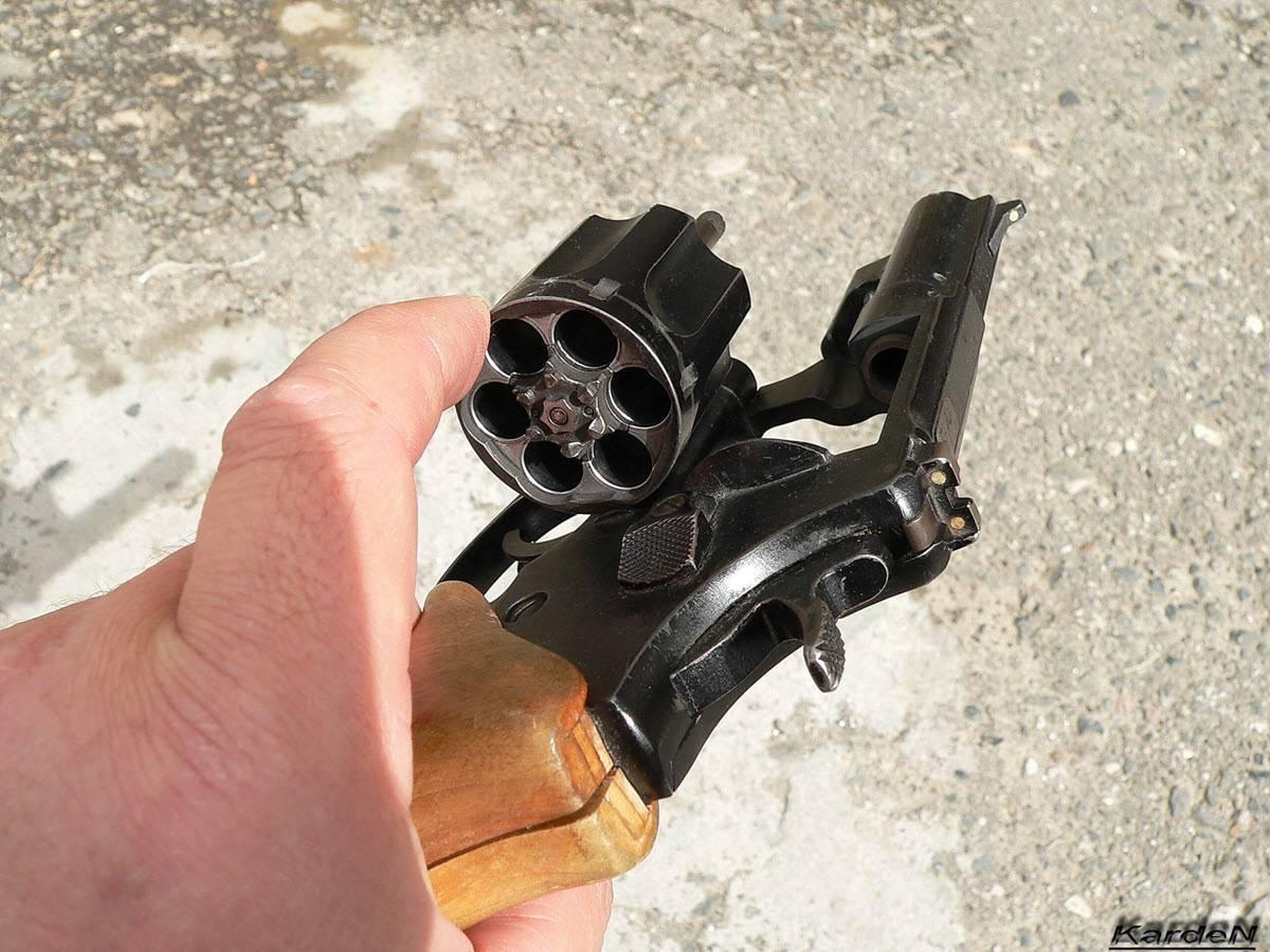 Револьвер рса - википедия