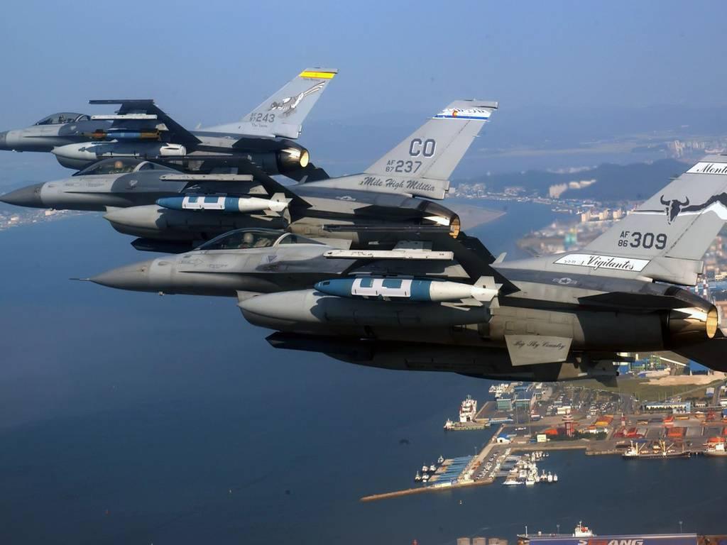 General Dynamics F-16 – крупносерийный «сокол»