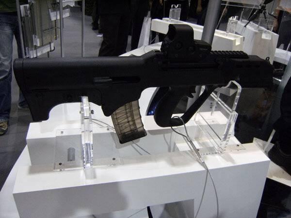 Видео: штурмовая винтовка sar-80