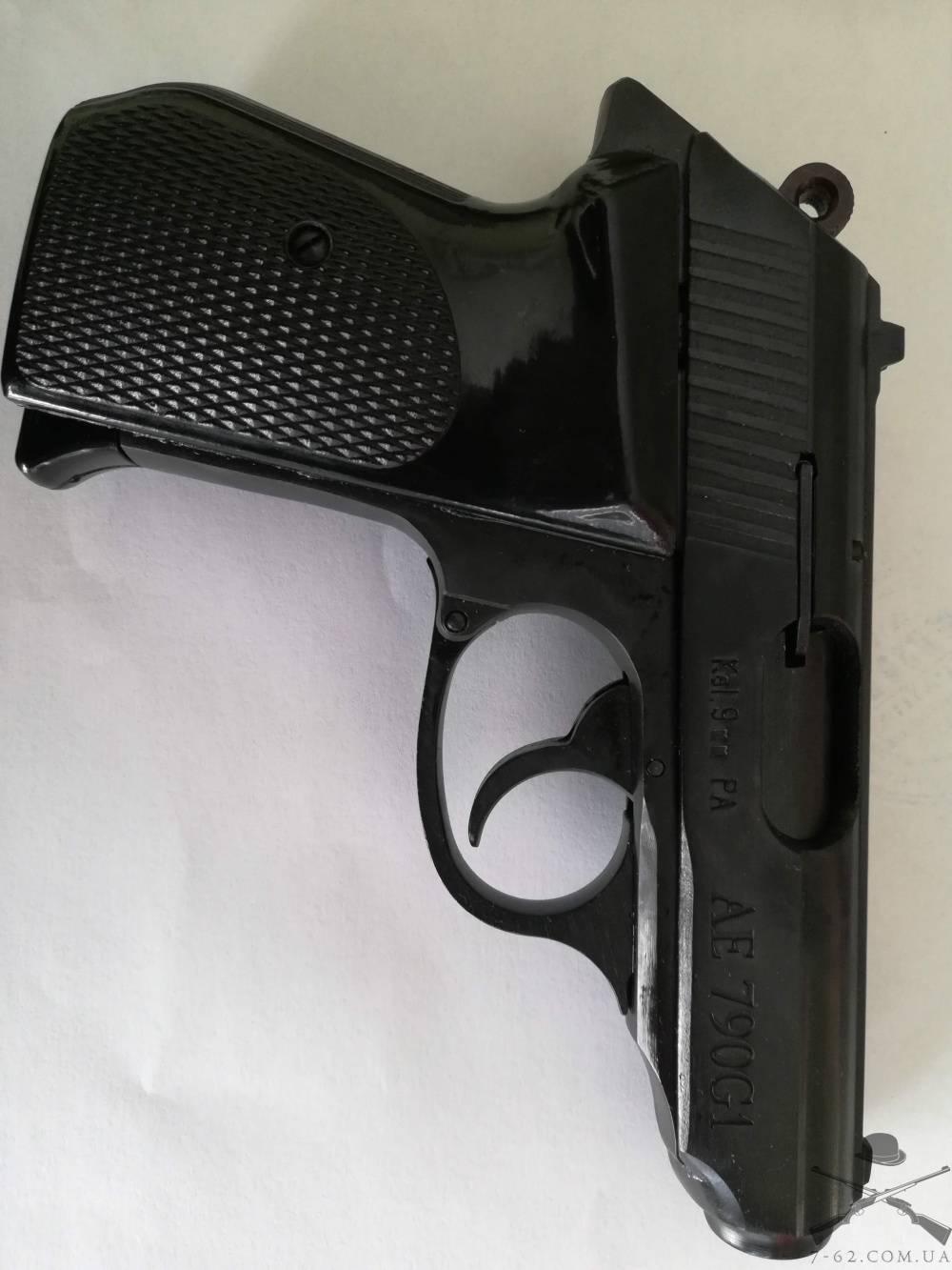 Шмайсер ПГШ — характеристики травматического пистолета