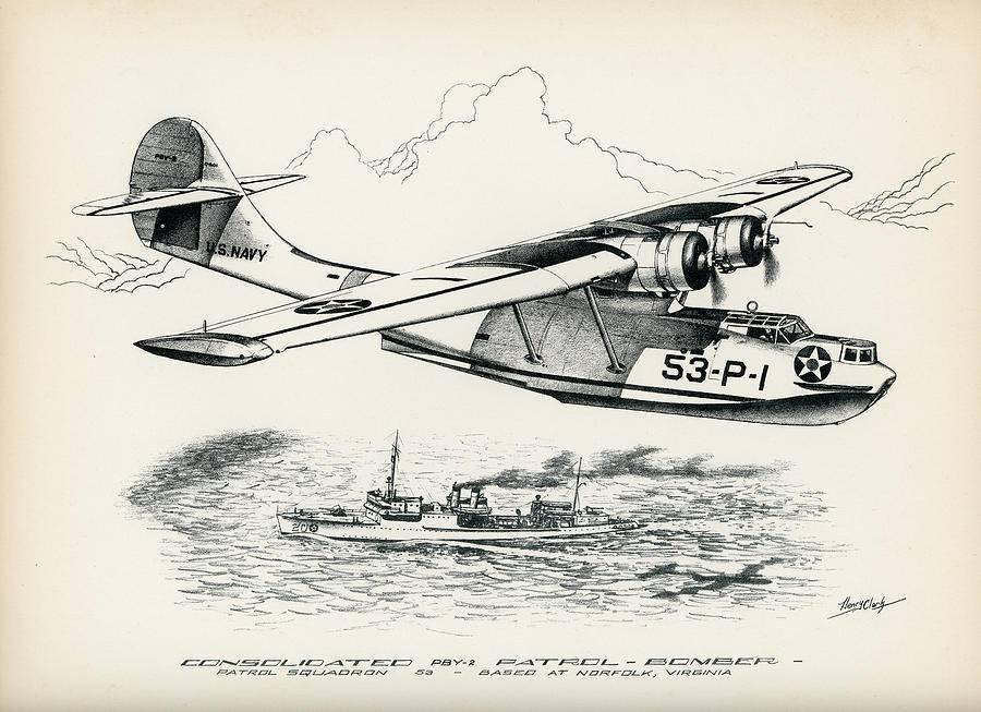 Consolidated pby catalina - патрульно-бомбардировочная летающая лодка | красные соколы нашей родины
