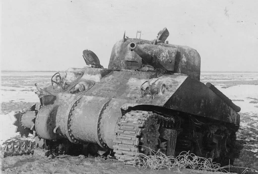 """Американский танк """"Шерман"""" – одна из легенд Второй Мировой"""