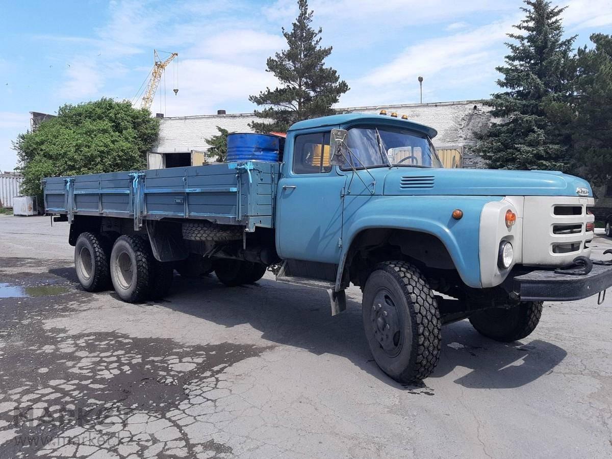 Зил 133 - легендарный советский грузовик