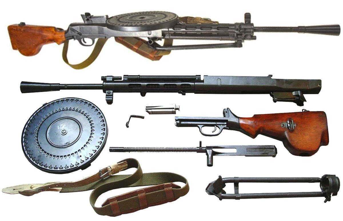 Ручной пулемет дегтярева рпд патрон калибр 7,62-мм