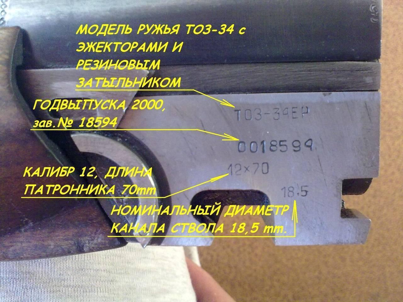 К 50-летию т-34: двуствольная вертикалка тоз-34 - самое массовое в россии гладкоствольное охотничье ружье тульского оружейного завода