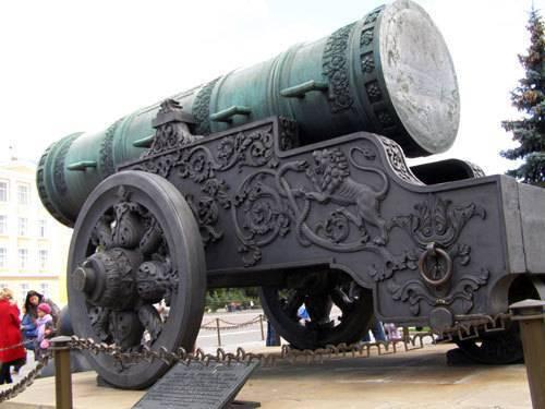 Лобин а. пушка ли царь-пушка?