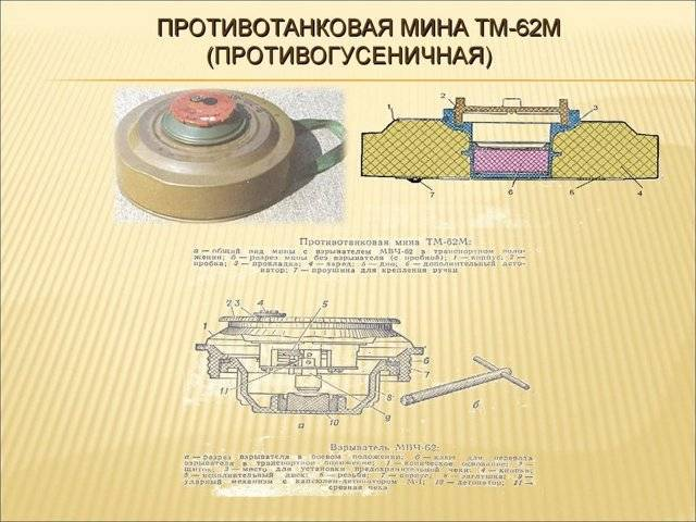Мина ТМ-62 – нестареющий борец с танками