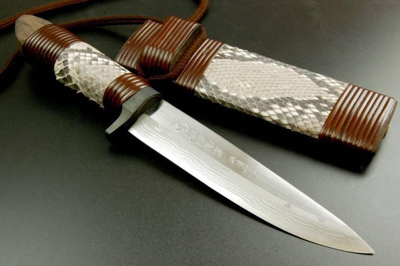 Нож танто: чертеж и размеры