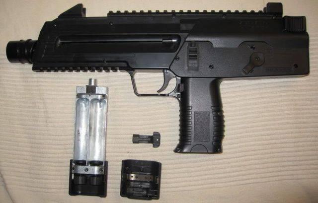 Пневматический пистолет umarex steel storm - зарубежный хардбольный автомат