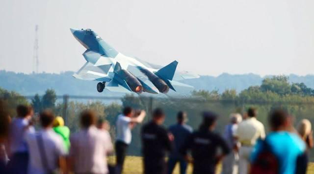 Самолёт су-57 (пак фа т 50)