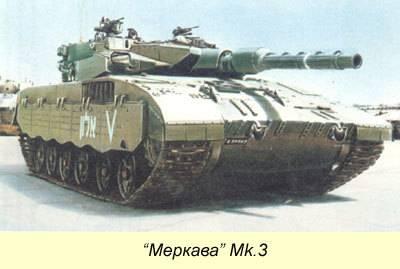 «меркава». детище израильского танкостроения