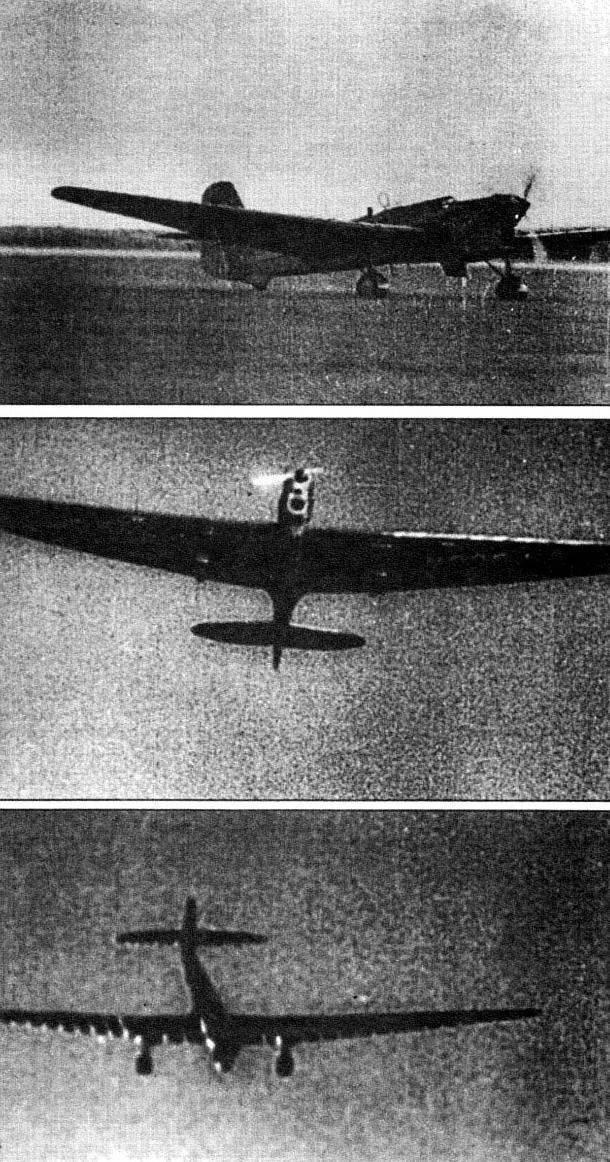 Туполев пс-9 (ант-9). фото. история. характеристики.