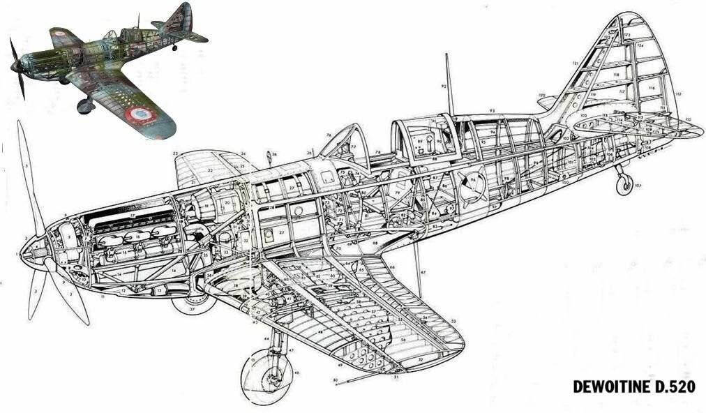 Самолеты франции второй мировой войны