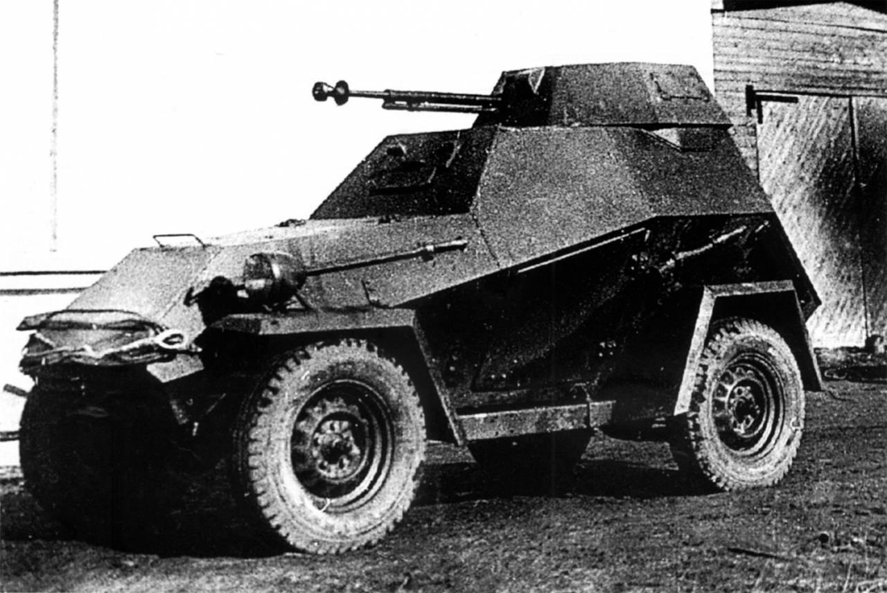 Легкий бронеавтомобиль ба-64