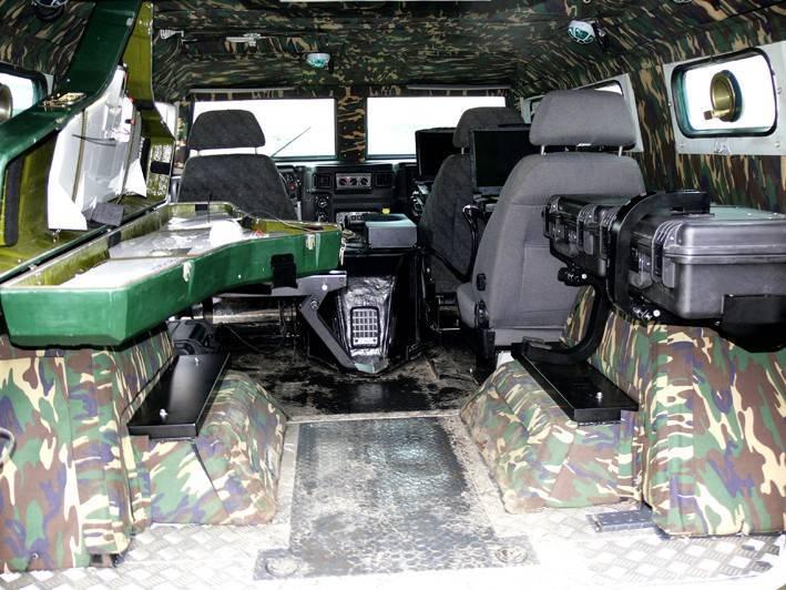Многоцелевой бронеавтомобиль газ-2330 «тигр» (россия)