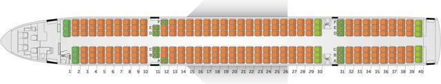 Боинг 757-200 азур эйр — схема салона и лучшие места