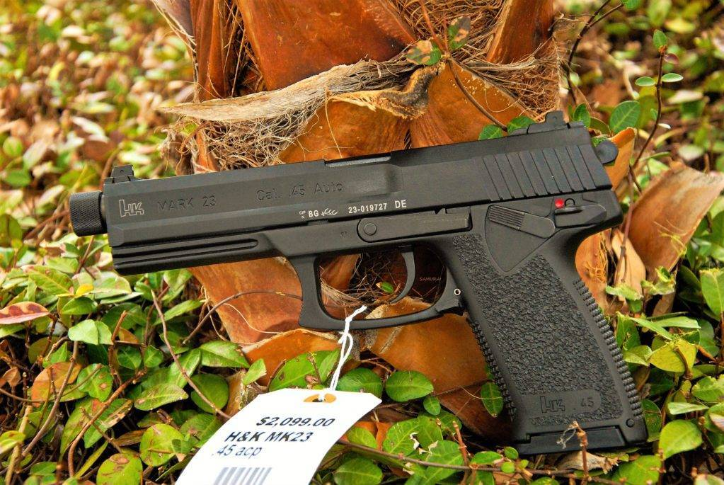 Heckler & koch mark 23 - internet movie firearms database - guns in movies, tv and video games