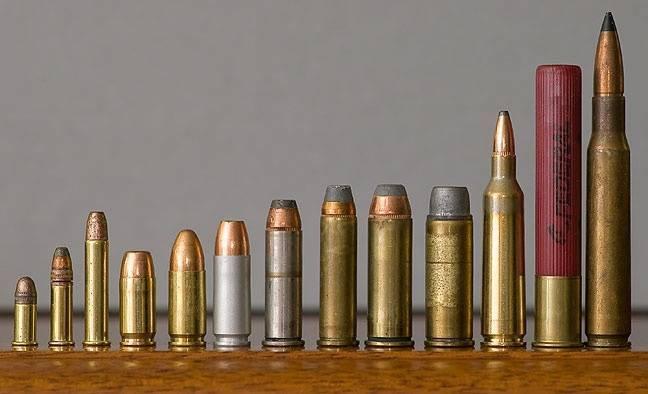 Калибры нарезного охотничьего оружия: таблица