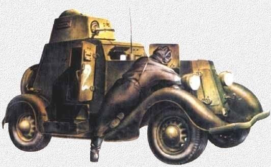 Бронеавтомобиль ба-11 двигатель, вес, размеры, вооружение