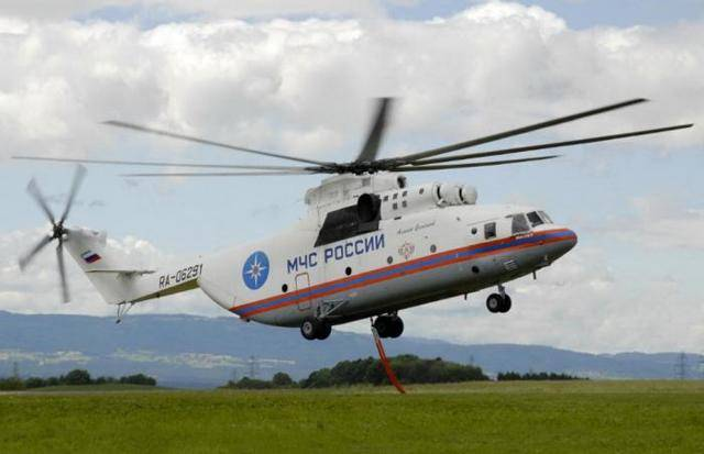 Ми-6 – винтокрылый гигант