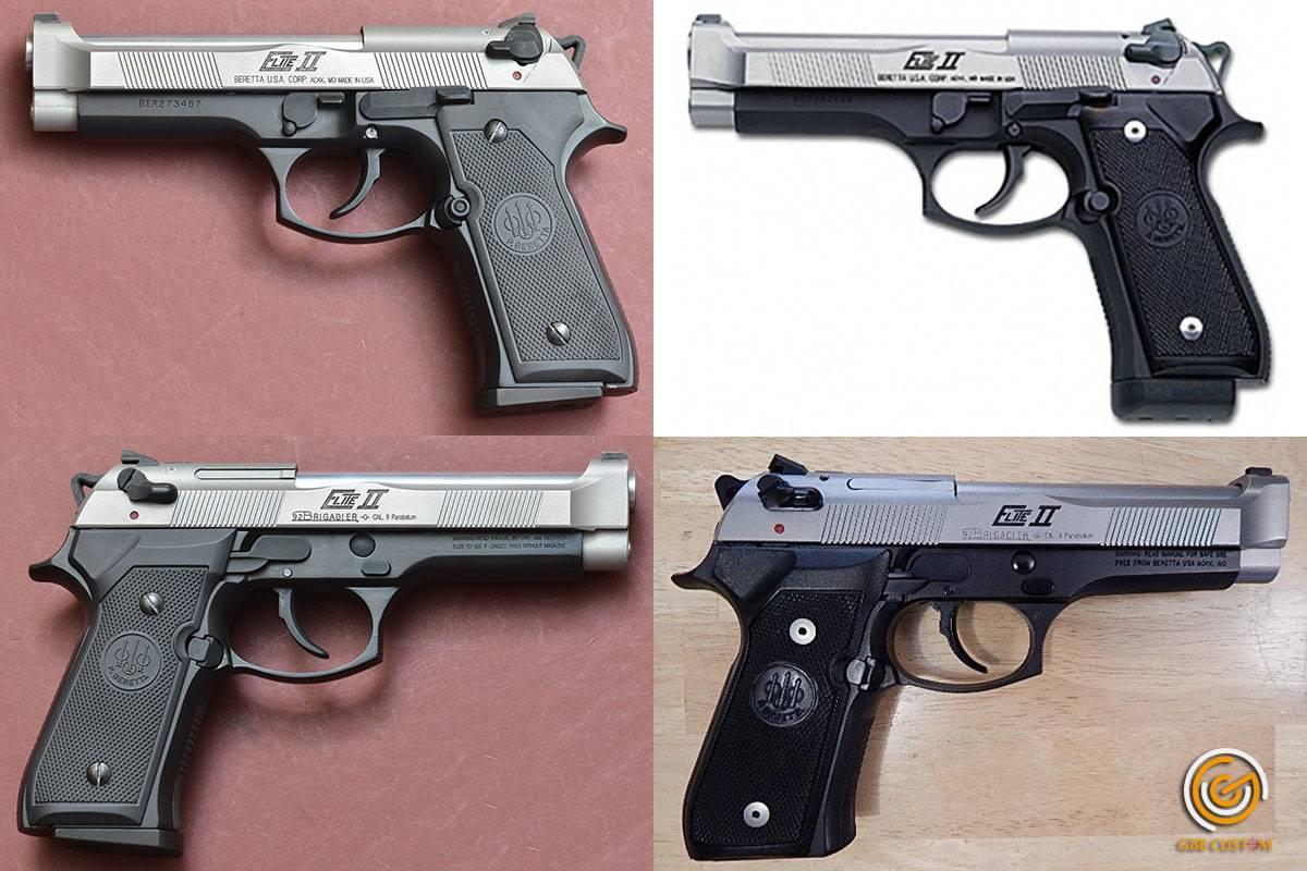 Пистолет беретта 92 ттх. фото. видео. размеры. скорострельность. скорость пули. прицельная дальность. вес