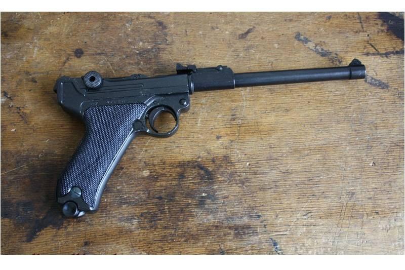 Пистолет люгера (luger «parabellum»)