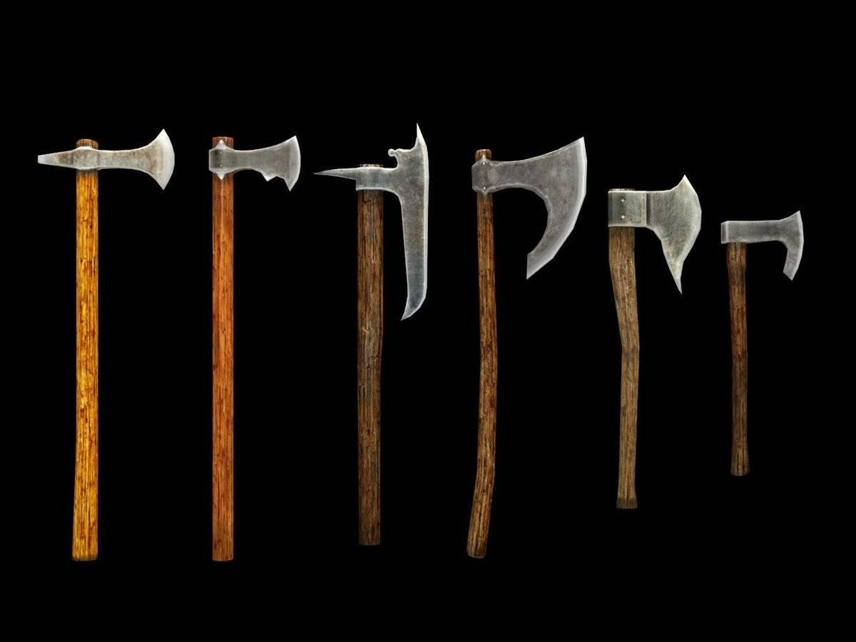 Топор викинга из простого топора. боевой топор: происхождение и исторические особенности. древнейший боевой топор
