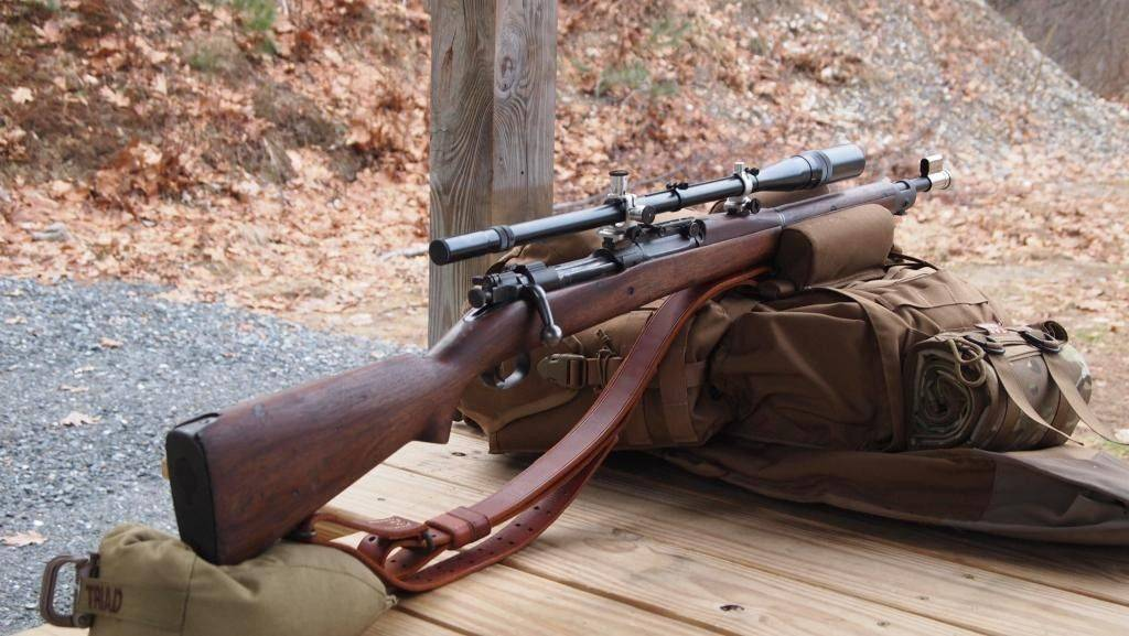 M1903 springfield rifle