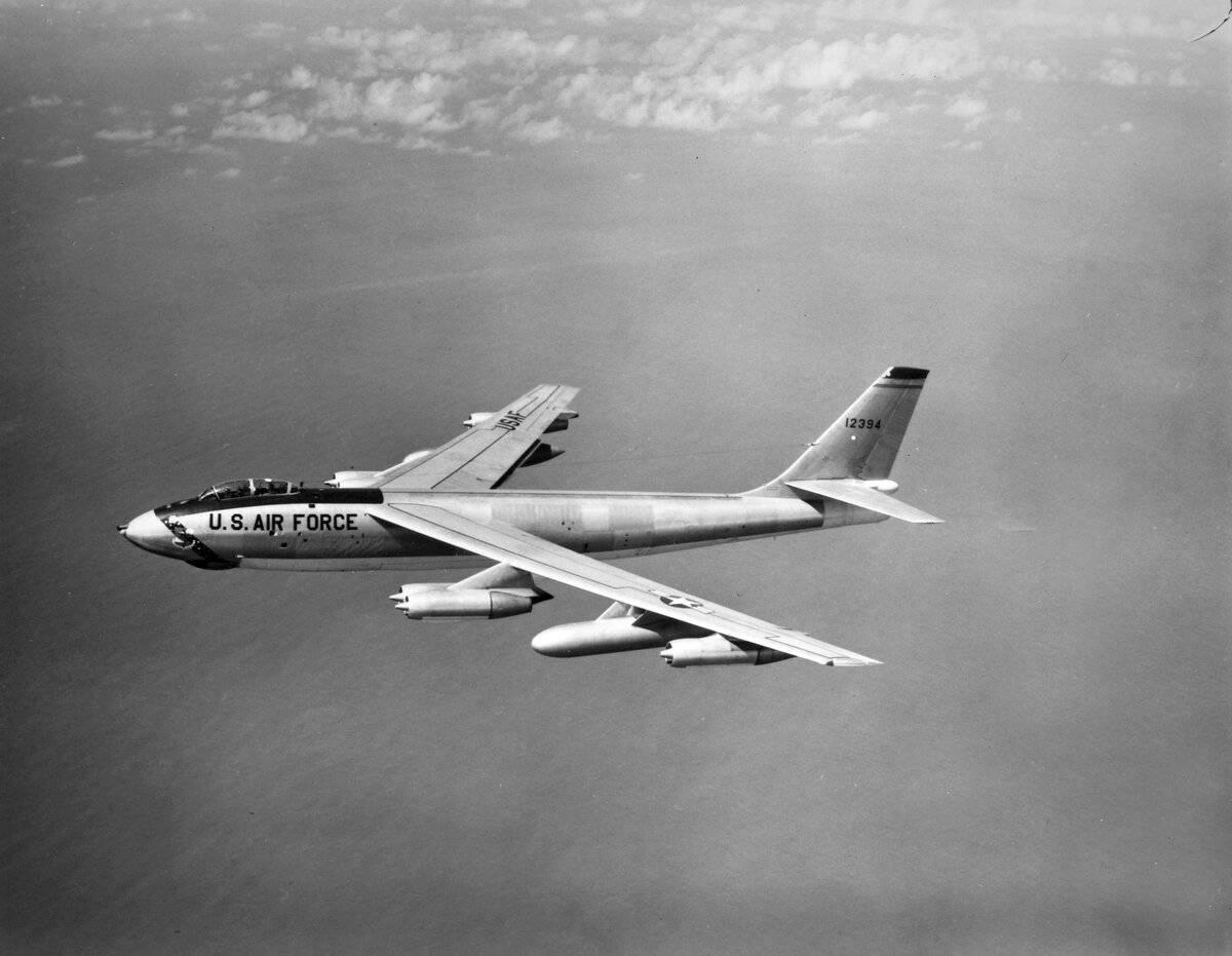 Бомбардировщик Boeing B-47 Stratojet – недолгая карьера реактивного первенца