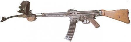 История первой штурмовой винтовки sturmgewehr stg.44. немецкая штурмовая винтовка штурмгевер: описание, ттх изображен чертеж немецкой автоматической винтовки stg 44