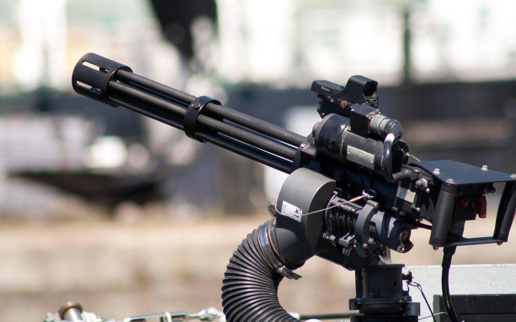 Многоствольный пулемет википедия