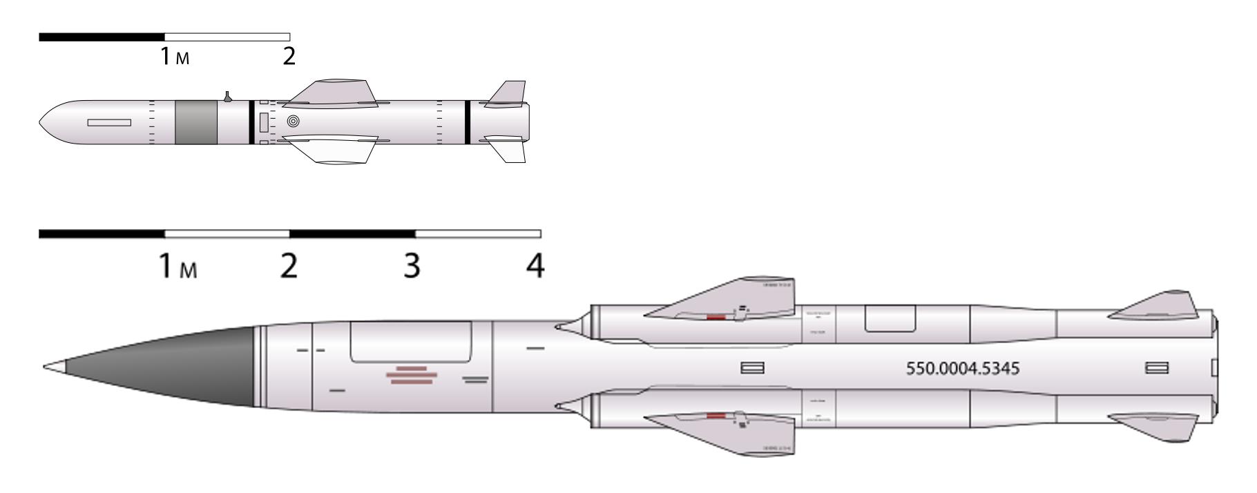 П-500 «базальт» (4к80) - противокорабельная ракета