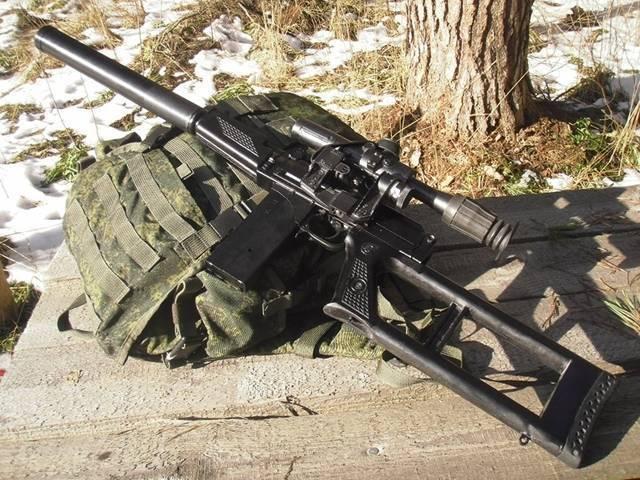Подготовка снайпера. 9 мм снайперская винтовка вск - 94