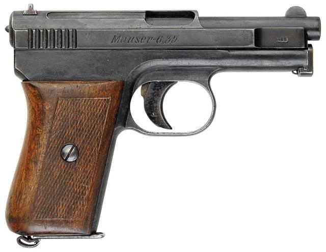 Пистолеты mauser м1910 / м1914 / м1934