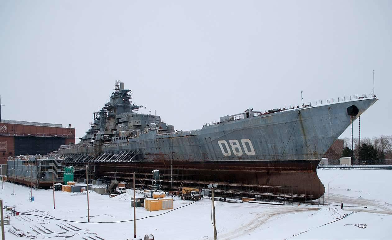 """""""адмирал нахимов"""" атомный крейсер – будущее российского флота"""