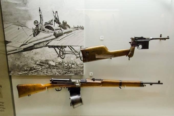 Fusil mondragon — викивоины — энциклопедия о военной истории