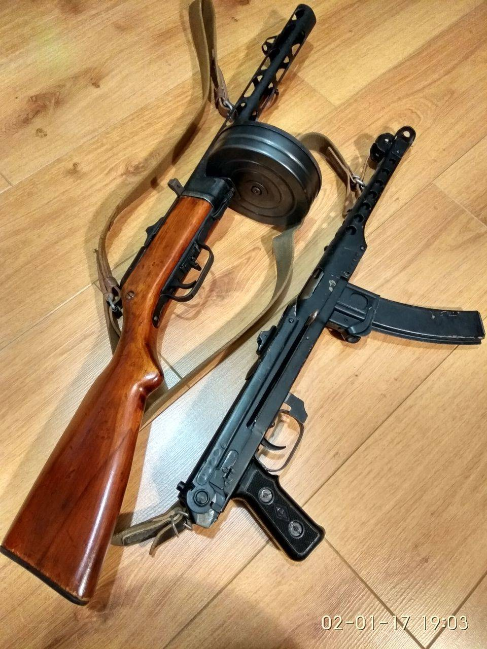 Суровый ленинградец. пистолет-пулемет судаева ппс-42/43