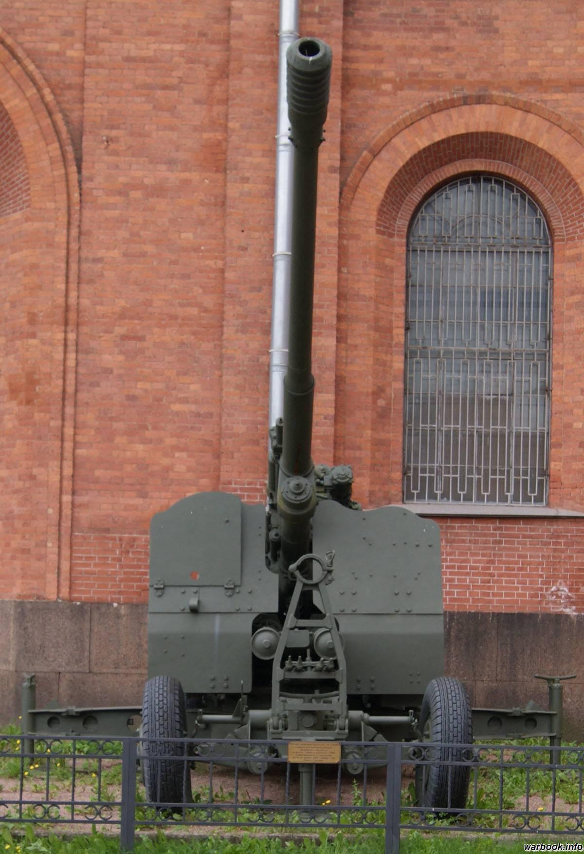 100-мм зенитная пушка кс-19 — википедия переиздание // wiki 2