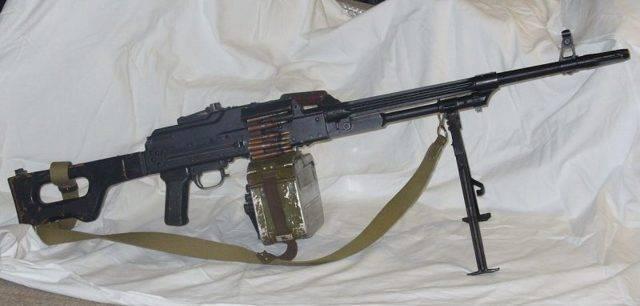Пулемёт калашникова танковый
