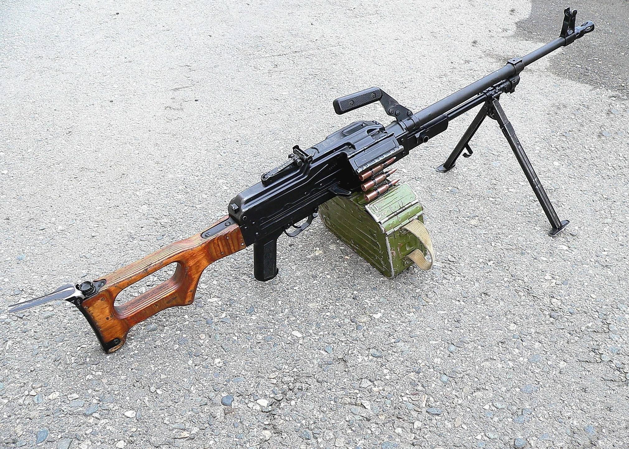 Пулемет Калашникова покорил полмира