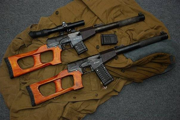Снайперская винтовка всс винторез патрон калибр 9-мм