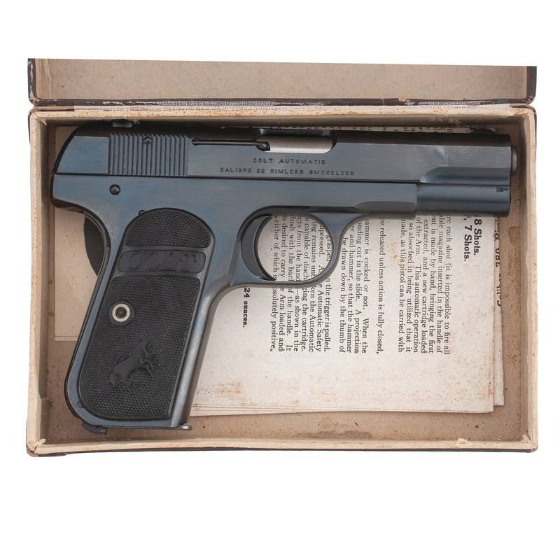 Пистолет Colt Model 1903 Pocket Hammerless